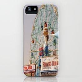 coney island brooklyn iPhone Case
