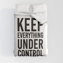 Keep everything under control Comforters