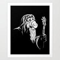 gandalf Art Prints featuring GandALF by sergio37