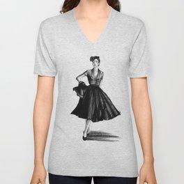 Fashion 1950 Unisex V-Neck
