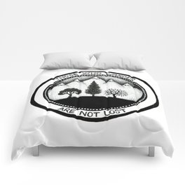 Wanderling Woods Comforters