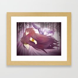 Little Owl. Framed Art Print