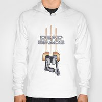dead space Hoodies featuring Dead Space by Spiritius