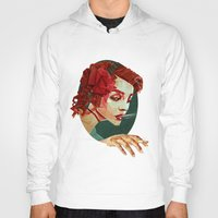 "smoking Hoodies featuring ""Smoking Princess"" by Giulio Rossi"