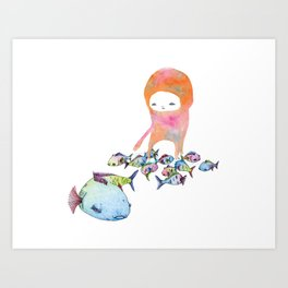 There are plenty more fish in the sea, but... Art Print