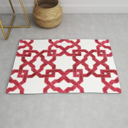 Geometric Pattern - Oriental Design rmx Rug