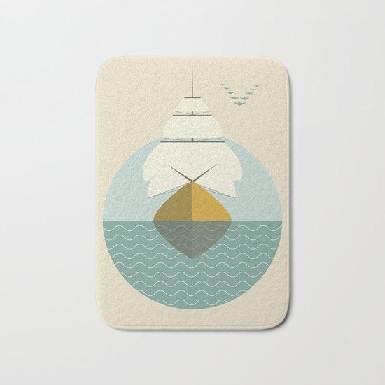 Sailboat Bath Mat