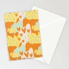 Abstract Art - When My Heart Comes Stationery Cards