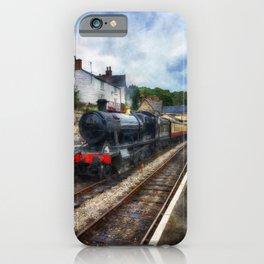 Steam Train Journey iPhone Case
