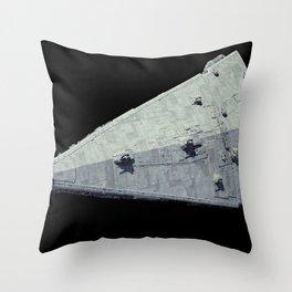 render Star Wars digital art Star Destroyer Throw Pillow