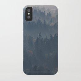 Hazy Layers iPhone Case