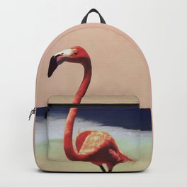 Flamingo beach Backpack