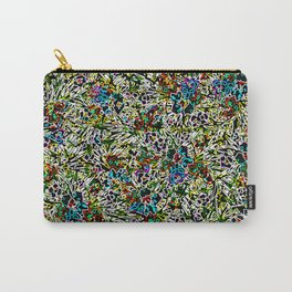 Colorful Abstract Patterns Carry-All Pouch