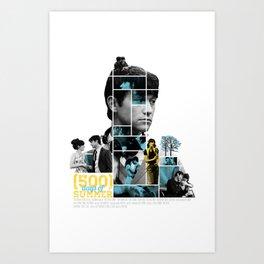 500 Days of Summer - Mosaic Poster Art Print