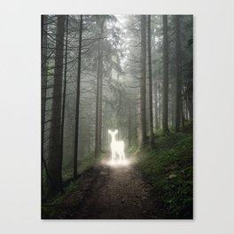 Glimpse Of A Spirit Canvas Print
