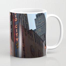 Radio City Music Hall at Christmastime Coffee Mug