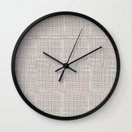 Abstract Minimal Pattern Wall Clock