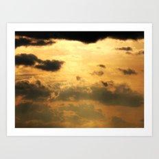 An Ominous Sky Art Print