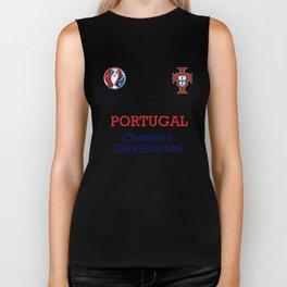 Champion Uefa Euro 2016 Portugal Biker Tank