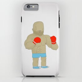 Two Boxers iPhone Case