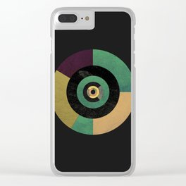 Circle Fibonacci.1 Clear iPhone Case