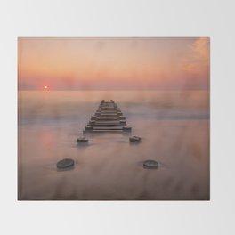 Rehoboth Sunrise Throw Blanket