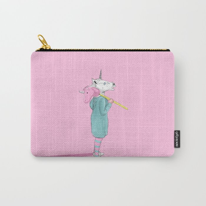 Unicorns Carry-All Pouch