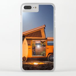Travel life Clear iPhone Case