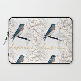Bluebird of Happiness Laptop Sleeve