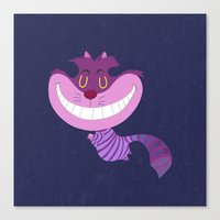 cheshire Canvas Prints featuring Cheshire by Rod Perich