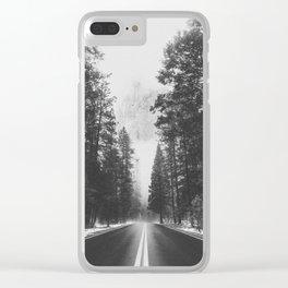 ROAD TRIP IV / Yosemite, California Clear iPhone Case
