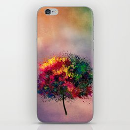Love in Fall iPhone Skin