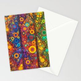 Bubble Mosaic Stationery Cards