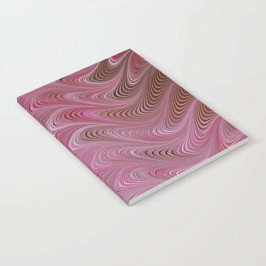 Pink Chocolate Swirl Notebook