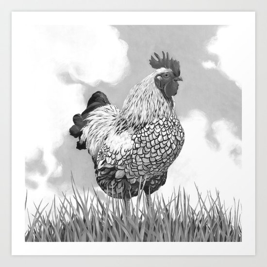 Welcome to the Farm Art Print