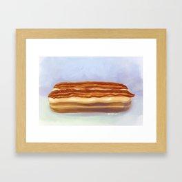 Maple Bacon Long John Framed Art Print