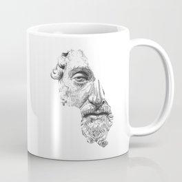 MARCUS AURELIUS ANTONINUS AUGUSTUS / black / white Coffee Mug