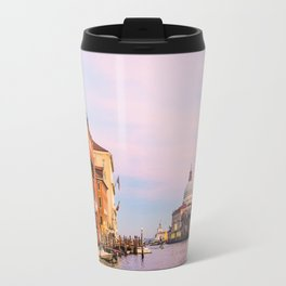 Cotton Candy Skies in Venice Travel Mug