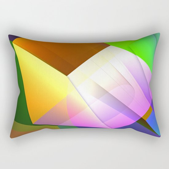 From a different point of view Rectangular Pillow