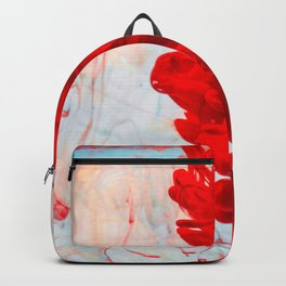 Red Ink Flow, What Does Your Subconscious Mind See? Backpack