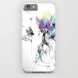 Nature Girl iPhone Case