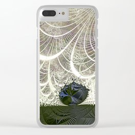 Defying the winds Clear iPhone Case