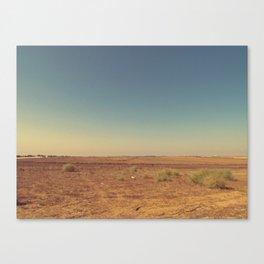 Desert silence Canvas Print
