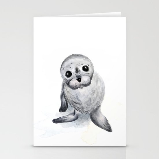 Little Seal by sketchycrow