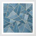 Dusk Blue Stone by elisabethfredriksson