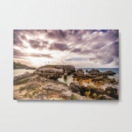 Tobacco Bay Beach, Bermuda Metal Print