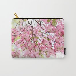pink dogwoods Carry-All Pouch
