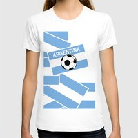 argentina T-shirts featuring Argentina Football by mailboxdisco