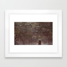 BABIRU Framed Art Print