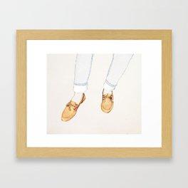 Charleston Framed Art Print